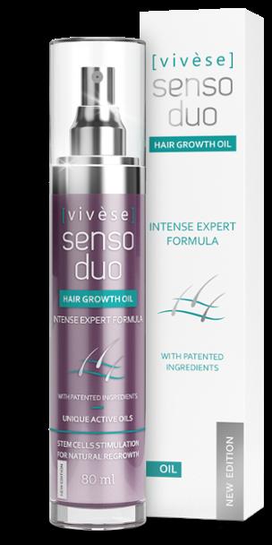 Vivese Senso Duo Oil: край на косопада, бърз растеж и буйни кичури