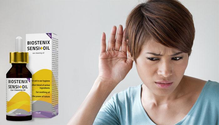 Biostenix Sensi Oil New: иновативна терапия, която възвръща на 100% добрия слух!
