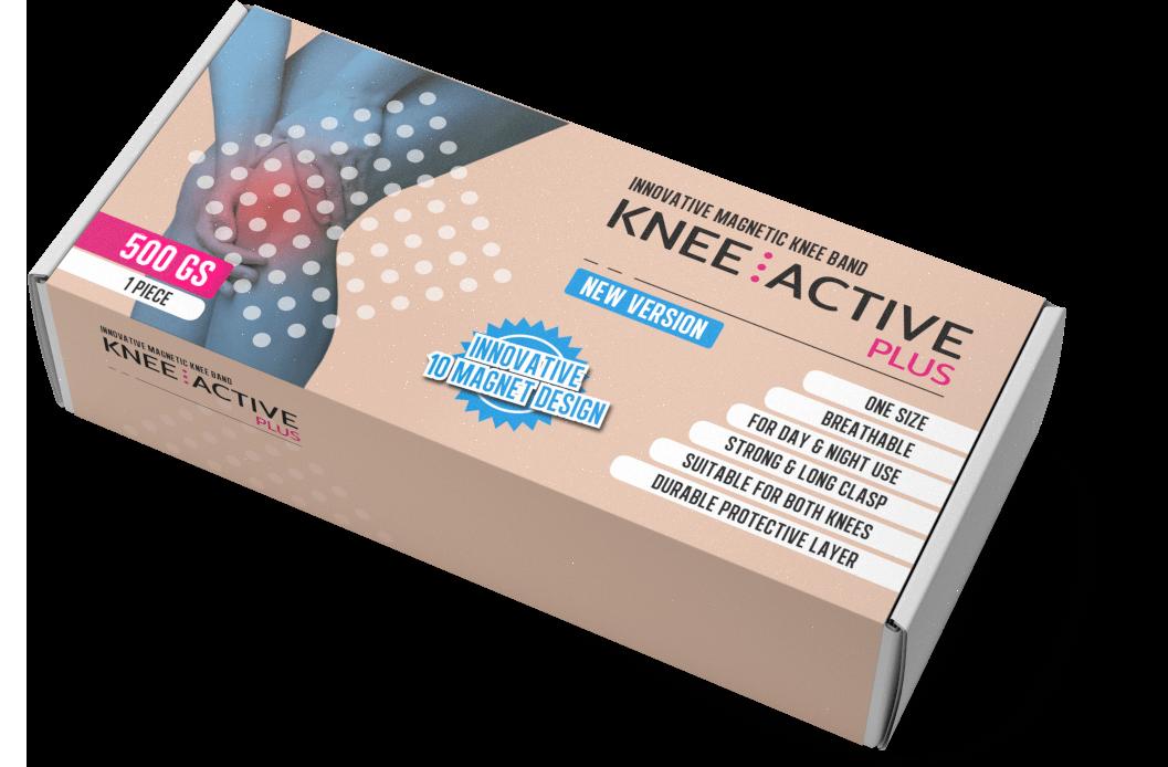 Knee Active Plus: стабилизатор за коляно с технология, базирана на магнитното поле