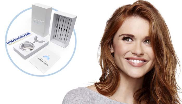 Комплект за избелване на зъби OralCare: снежнобяла и ослепителна усмивка