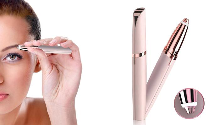 Flawless Brows дамски тример за вежди: отървете се от досадното окосмяване около веждите с помощта на едно сигурно оръжие!