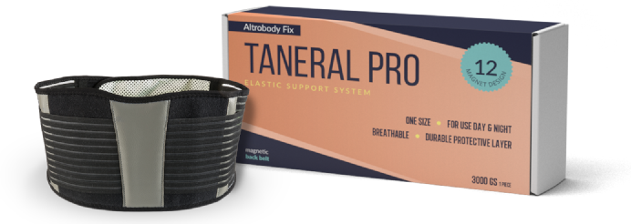 Taneral Pro: край на ерата на болките в гърба!