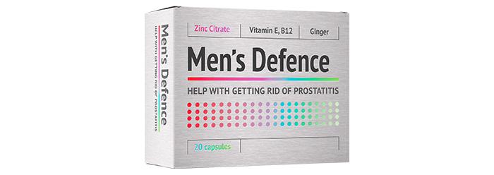 Men's Defence: професионално средство за лечение на простатит