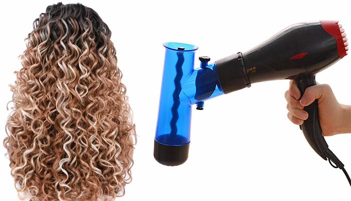 Magic Curly Diffuser за коса: перфектна прическа, като при фризьор