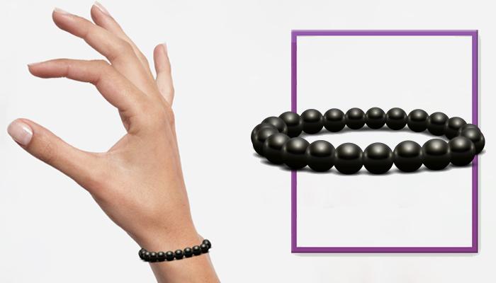 Bracelet Bianchi: гривна от черен шунгит за вашето дълголетие!