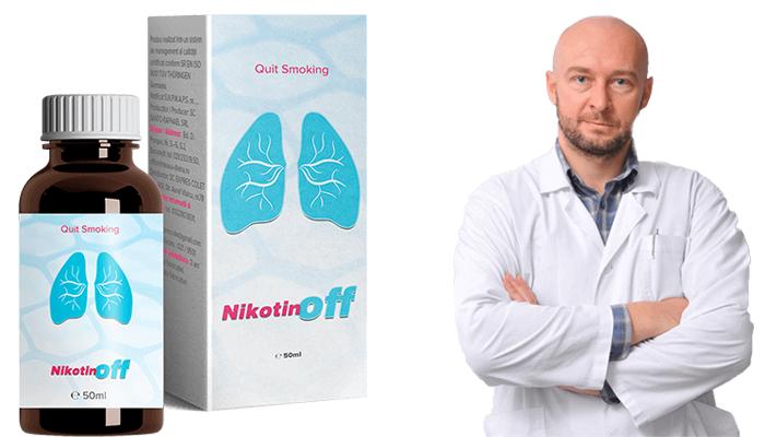 Nikotinoff: откажете се от пушенето с един курс