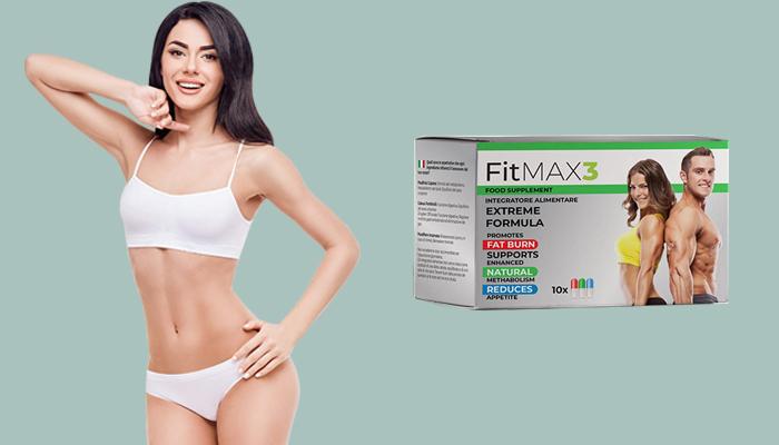 FitMAX3: уникална система за бързо отслабване