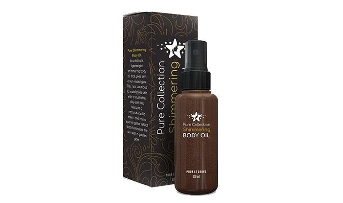 Pure Shimmering Body масло за блясъка на кожата: слънчева гладка кожа за един миг!