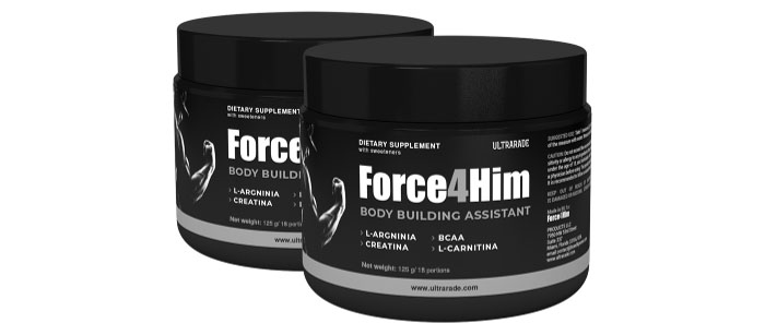 Force4Him: видимо увеличени и силни мускули