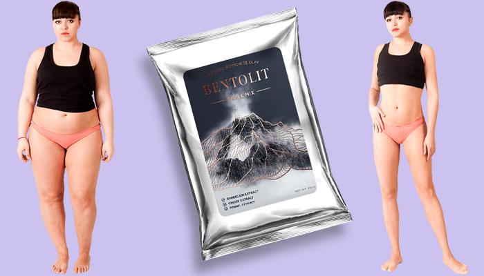 Bentolit: незабавна напитка за отслабване с вулканична глина