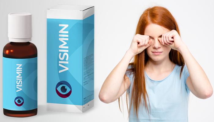 VISIMIN: елиминира всякакви симптоми на очни заболявания и възстановява зрението!