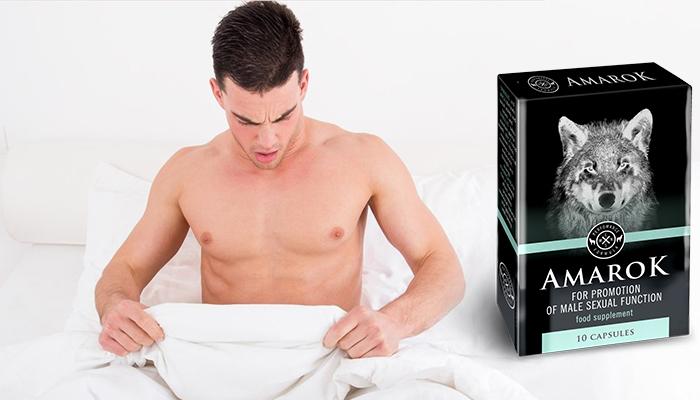 AMAROK за потентност: максимално удоволствие от секса