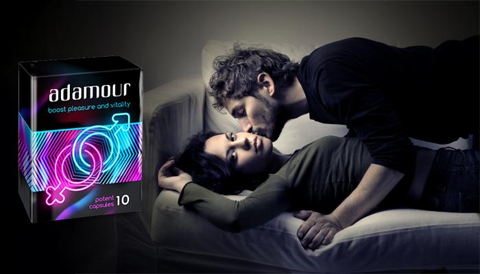 Adamour: твърда и постоянна ерекция след 10 минути