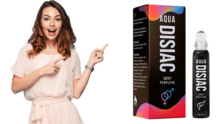 Aqua Disiac парфюм на основата на феромони: събуди страстта