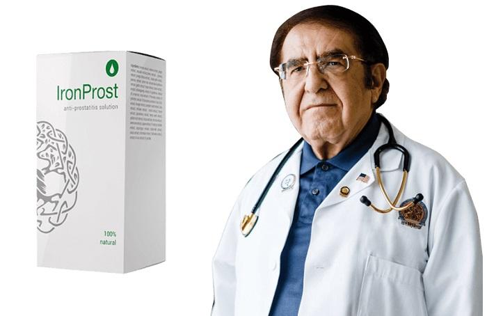 IronProst от простатит: забравете за мъжките заболявания за дълго време!
