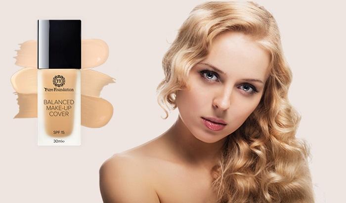 Pure foundation тонален крем: скрива несъвършенствата на цвета на кожата!