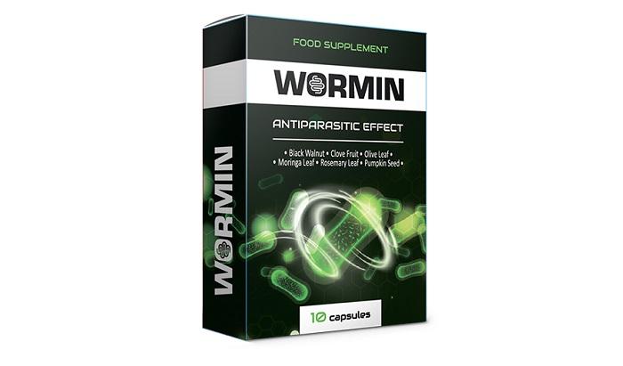 WORMIN от паразити: освобождава организма от всички видове паразити!