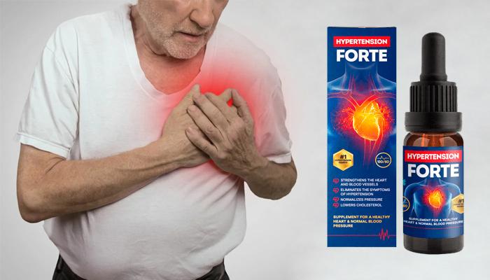 Hypertension Forte: побеждава хипертонията и всичките й симптоми!