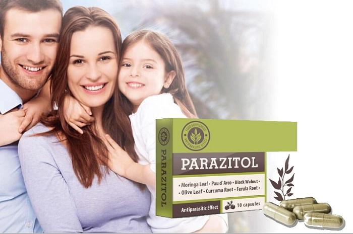 PARAZITOL от паразити: пълно почистване на тялото за 1 курс!