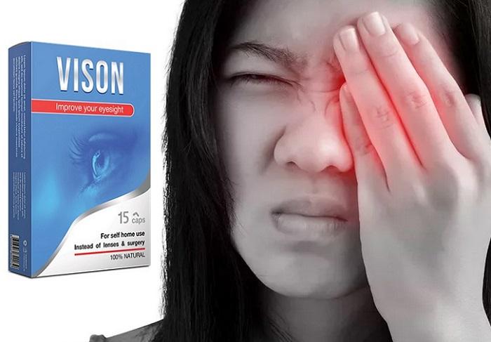 Vison за зрението: със 100% ефективност поддържа и предпазва зрението!