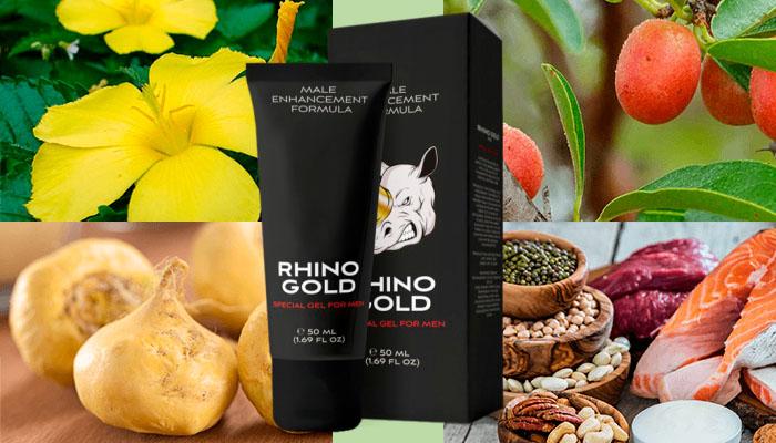 Rhino Gold Gel за уголемяване на члена: размер, достоен за внимание