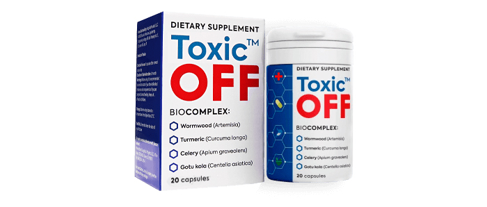 Toxic OFF срещу паразити: ще пречисти тялото ви от паразити и ще ви избави от папиломи и брадавици