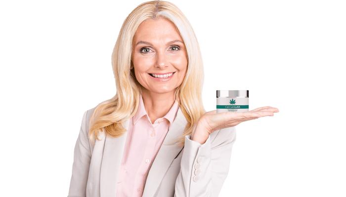 CannabiLAB против бръчки: крем за подмладяване на клетъчно ниво