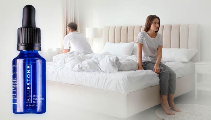 Bluestone за потентност: връща мъжката сила без увреждане на сърцето и кръвоносните съдове
