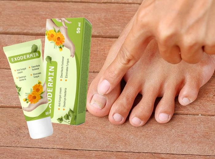 Exodermin от гъбички на краката и ноктите: унищожава гъбичките по краката само за 4 седмици!