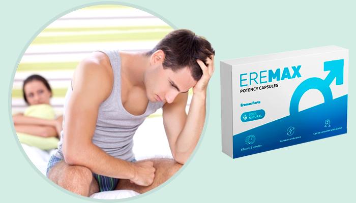 EREMAX за потентност: първият естествен активатор на истинската сексуална сила!