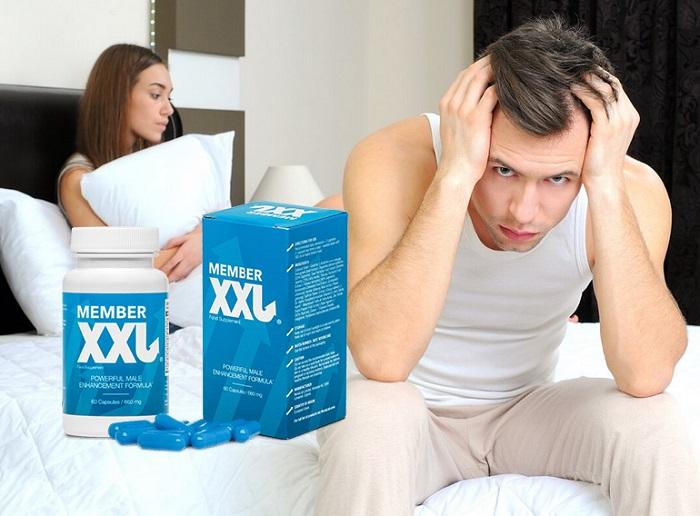 MEMBER XXL за уголемяване на пениса: естествено уголемяване на мъжествеността!